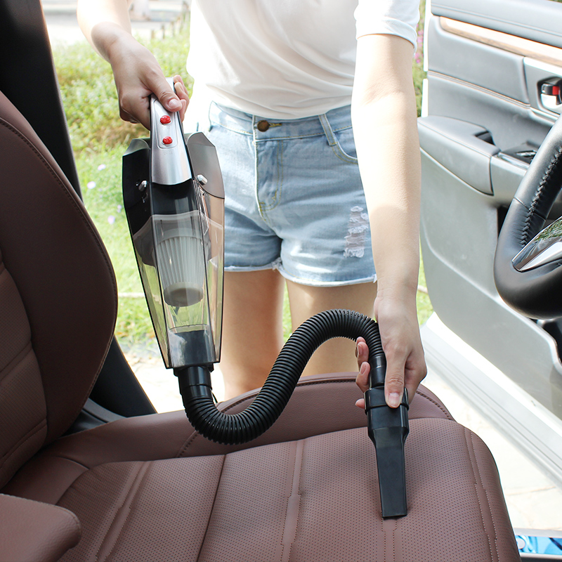 车载吸尘器大功率120W 汽车洗尘吸尘车用家用两用12V车内干湿吸力