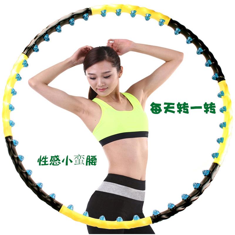 Съемный обруч тонкий женская талия ученый для взрослых живот для похудения стройная круг фитнес худеть устройство лесоматериалы ухудшение вызов тянуть круг
