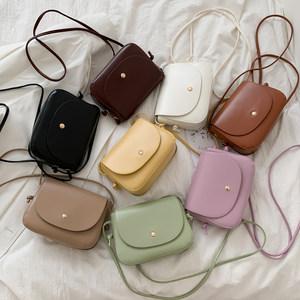 今年流行的包包女2020夏天新款潮百搭小清新斜挎包时尚复古小方包