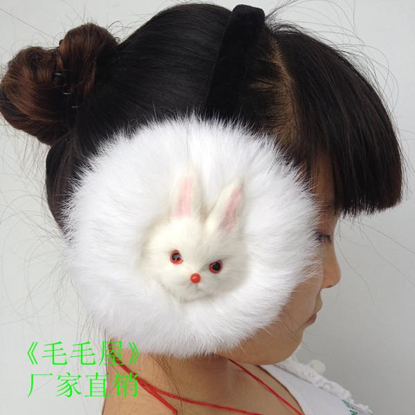 Реальная кролика халявы уха халявы уха халявы уха/животное головки халявы уха халявы уха уха крышка уха/зимний пакет