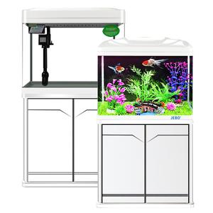 佳宝鱼缸水族箱超白玻璃创意中型小型生态免换水金鱼缸50/60/80cm