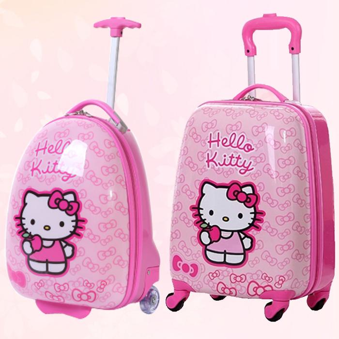 儿童拉杆箱女公主箱18寸宝宝行李箱卡通小孩旅行拖箱万向轮可坐骑