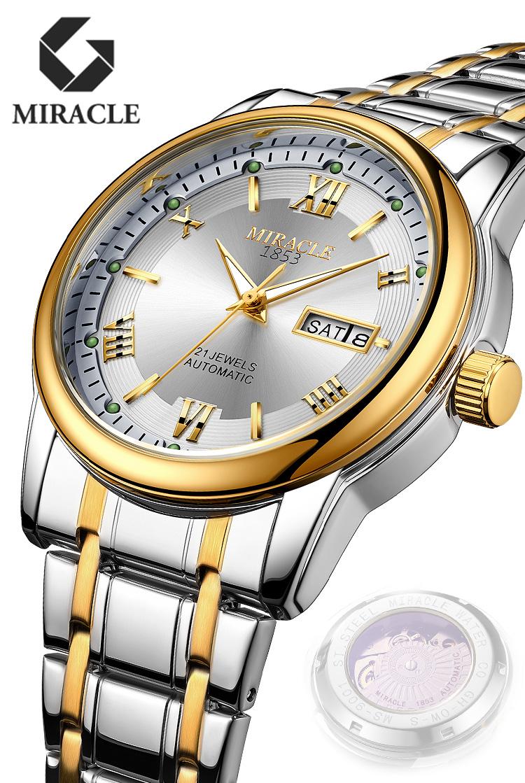 スイスのブランドの高級品の男性の腕時計の暗い科学技術の全自動の機械表の国産の20新型の夜光の防水の潮流