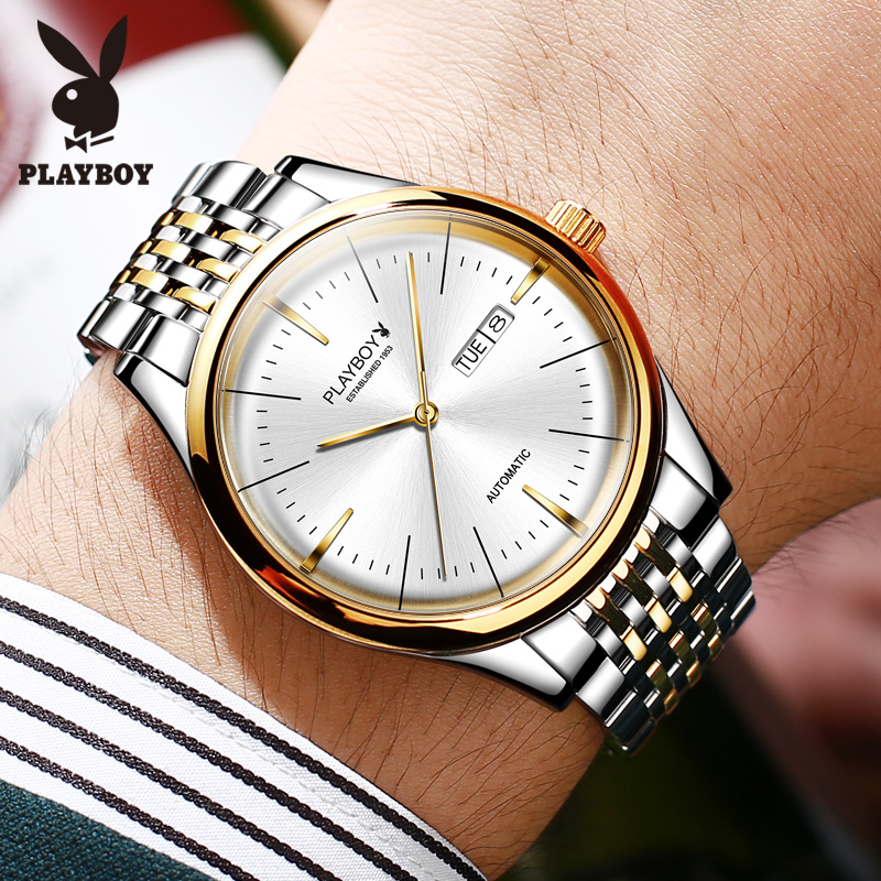 Brand mens watch fully automatic mechanical watch new concept simple high-end watch for boyfriend men