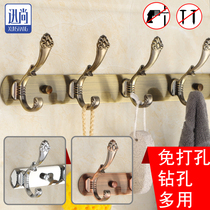 强力粘胶挂钩厨房墙壁挂浴室创意门后承重防水吸盘无痕免钉不粘钩