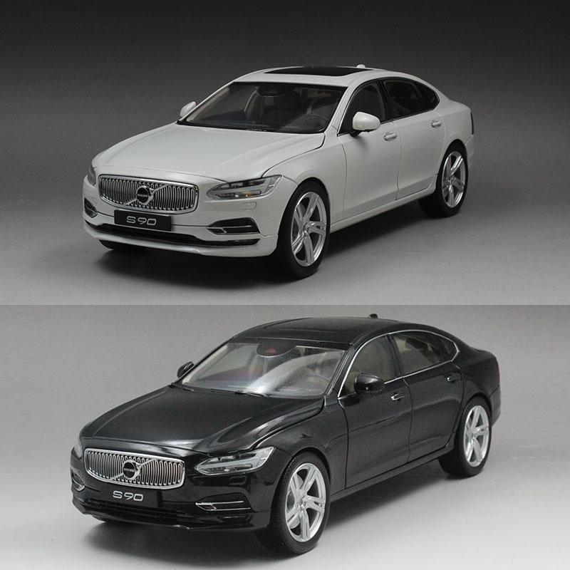 原厂 1:18 volvo S90 沃尔沃S90 新款 4s店礼品 合金汽车模型