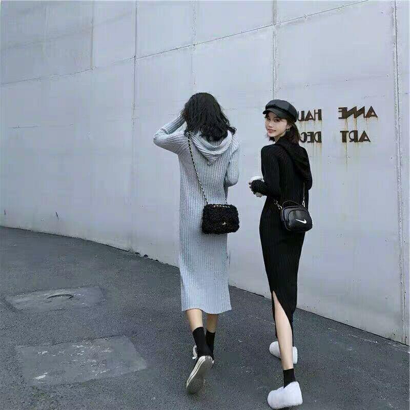 138.00元包邮2019初春早秋新款潮洋气时尚连衣裙