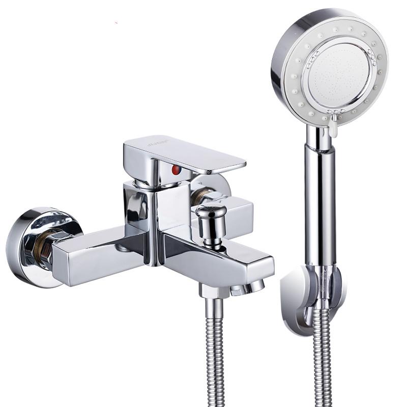 淋浴器混水阀冷热明装恒温淋浴花洒喷头浴室浴缸水龙头混合阀开关