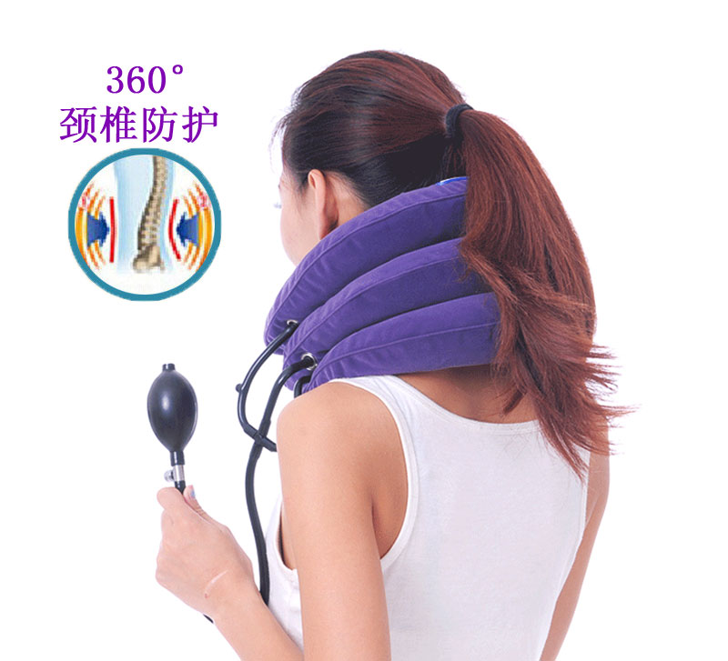 Прекрасный степень шейного позвонка тяга газированный стиль домой шея модель тяга шея плечо шея уход