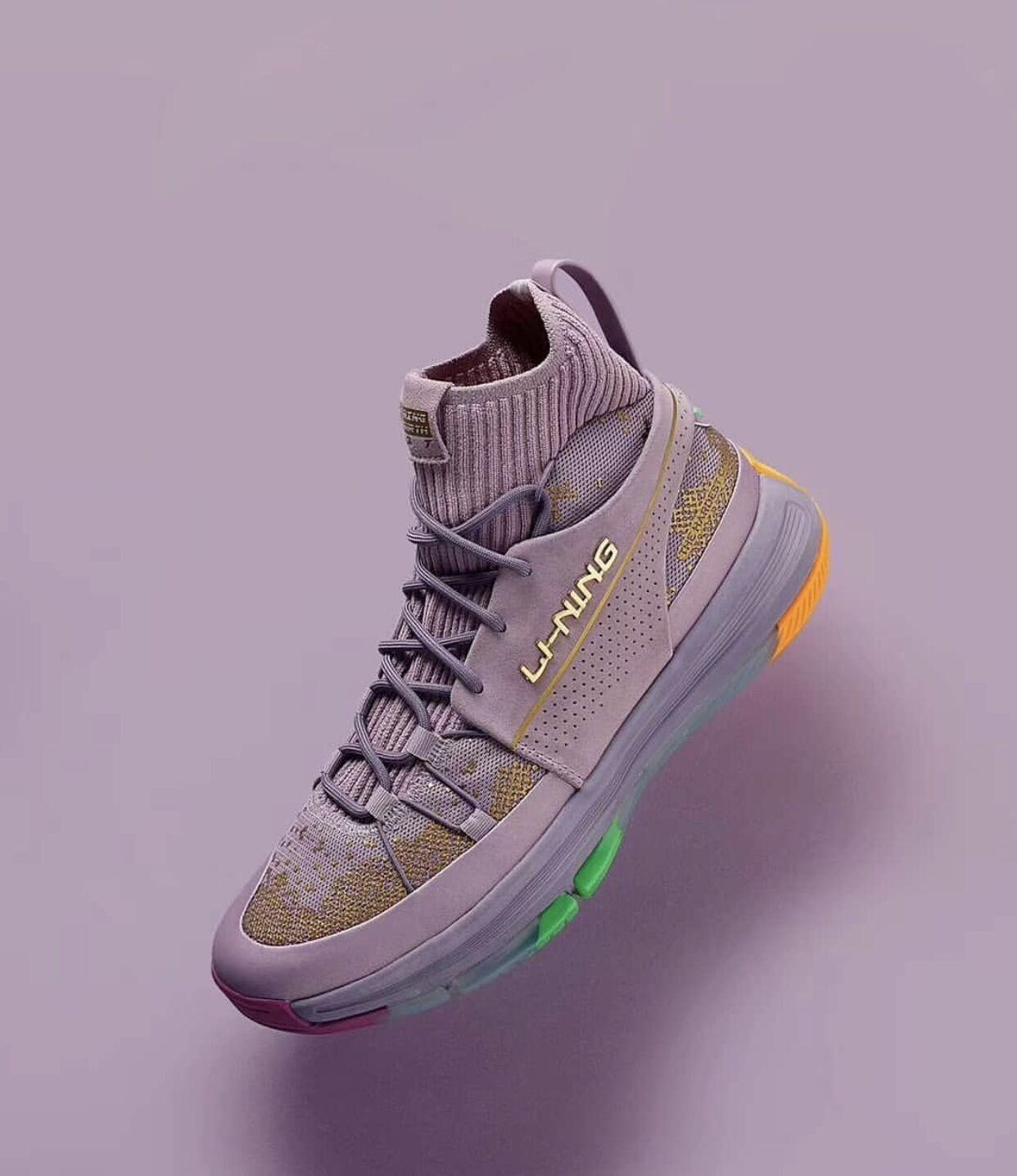 识货李宁937元年龙鳞灭霸联名高帮男子篮球文化鞋ABPP035 AGBQ027