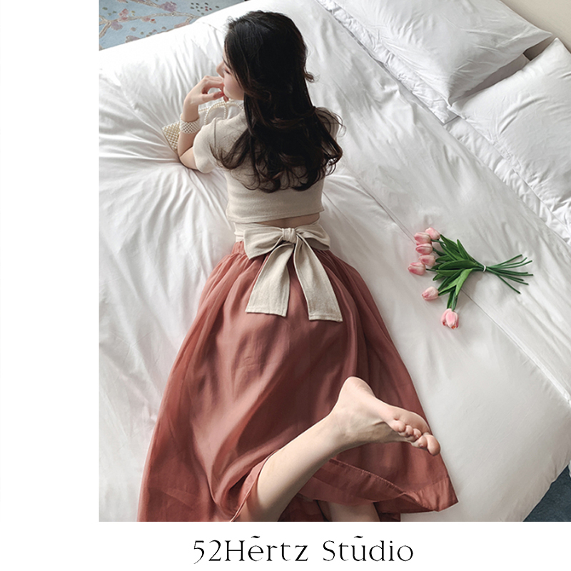 52hertz new summer Fairy Butterfly show thin womens top dress fashion lady gentle sexy