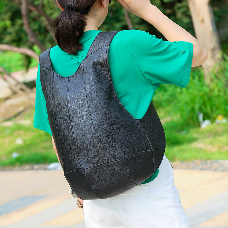 2019 New Street trend Backpack PERSONALIZED vest turtle shell large capacity bag for men and women simple sports bag