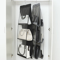 Transparent placement bag of storage bag home wall hanging bag Oracle bedroom finishing cabinet wardrobe locker shelf
