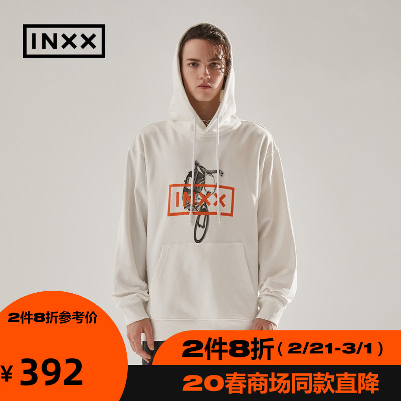 Inxxinxxstreet drifting paradise series new spring fashion couple printed Hoodie