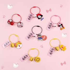 网红文字钥匙环圈 ins创意情侣韩国简约创意可爱汽车钥匙链女生