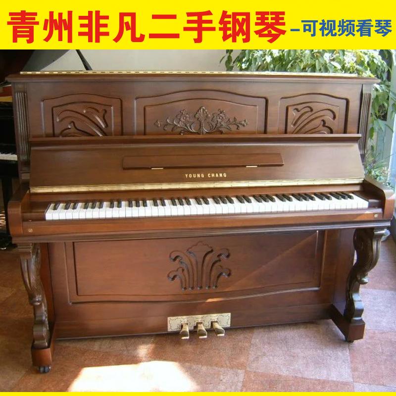 山东潍坊青州临朐寿光淄博青岛二手钢琴原装进口钢琴121英昌