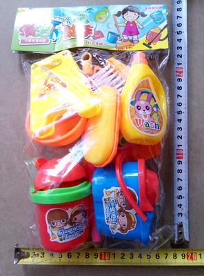 儿童宝宝清洁扫把玩具套装 扫地拖把簸箕洁具过家家玩具卫生组合