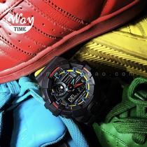 太阳能电波男表7A1A21APCG100BGAWSHOCKG卡西欧手表