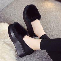雪地靴女2020新款棉鞋女冬加绒低帮短筒短靴女保暖防滑学生女鞋子