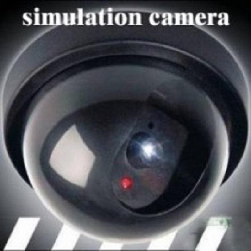 CCTV半球仿真监视器 新款精装仿摄像头监控器新款带灯广角假警眼