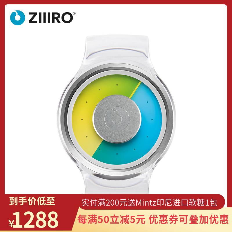 零ZIIIRO正品质子系列手表创意概念个性女士时尚防水圆形石英腕表