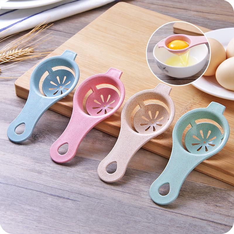 Творческий яичный белок сепаратор яйцо желток яйцо фильтр сепаратор яйцо кухня яичный желток яйцо белый сепаратор инструмент