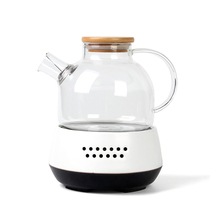 Cool Summer black Camellia tea fruit tea electric furnace electric heating tea furnace heat-resistant glass kettle