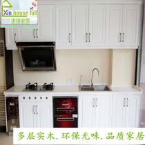 歐式櫥柜門定做PVC吸塑門模壓板整體衣柜鞋柜廚房柜門定制百葉門