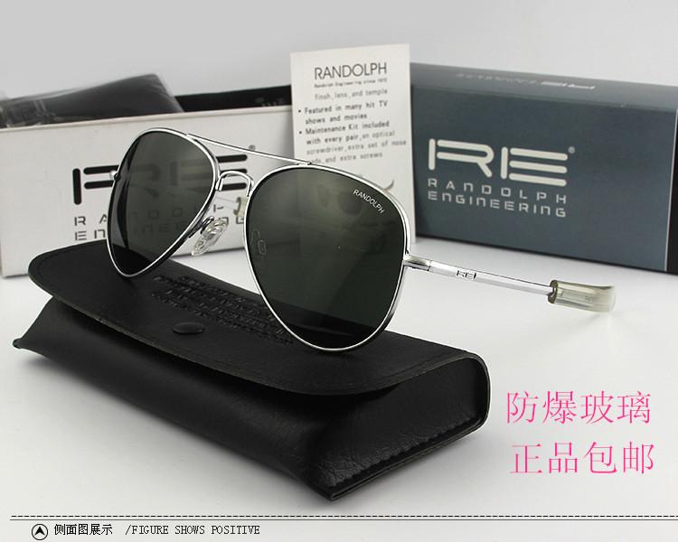 American Air Force pilot Randolph Sunglasses Randolph Concorde Sunglasses glass toad glasses