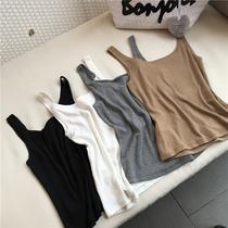吊带背心女2020夏季韩版外穿打底性感百搭欧货港风纯棉无袖上衣潮