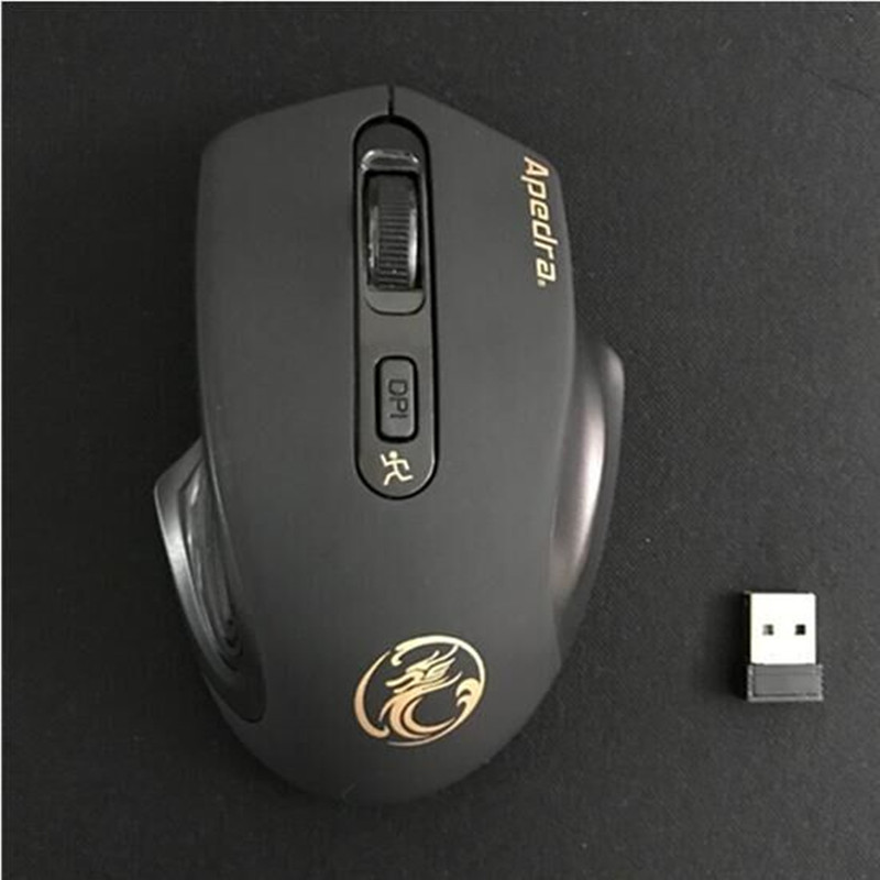 Wireless big mouse Shenzhou Lenovo ASUS HP Samsung apple notebook computer big hand
