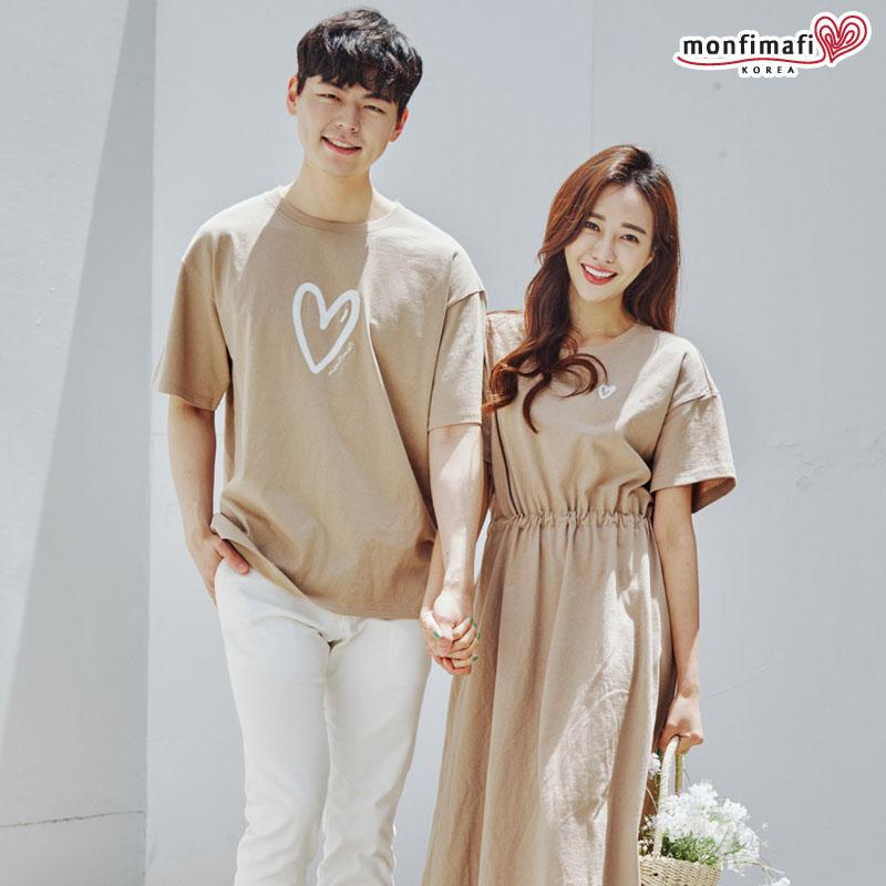 韩国高端一家四口亲子装夏季海边时尚情侣装简约纯棉父子装母女装