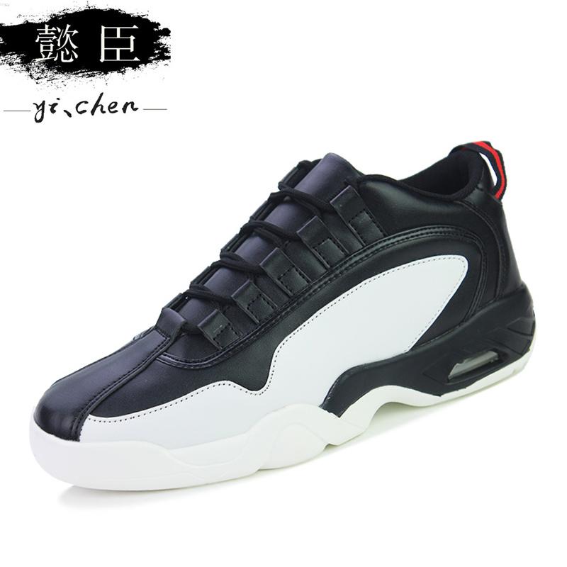2016 男士 百搭內增高跑步潮鞋學生 氣墊男鞋子棉鞋