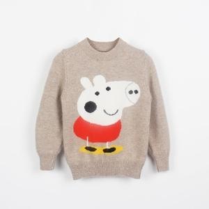 儿童毛衣女童羊绒衫男童套头羊毛衫中小童宝宝打底针织衫秋冬新款