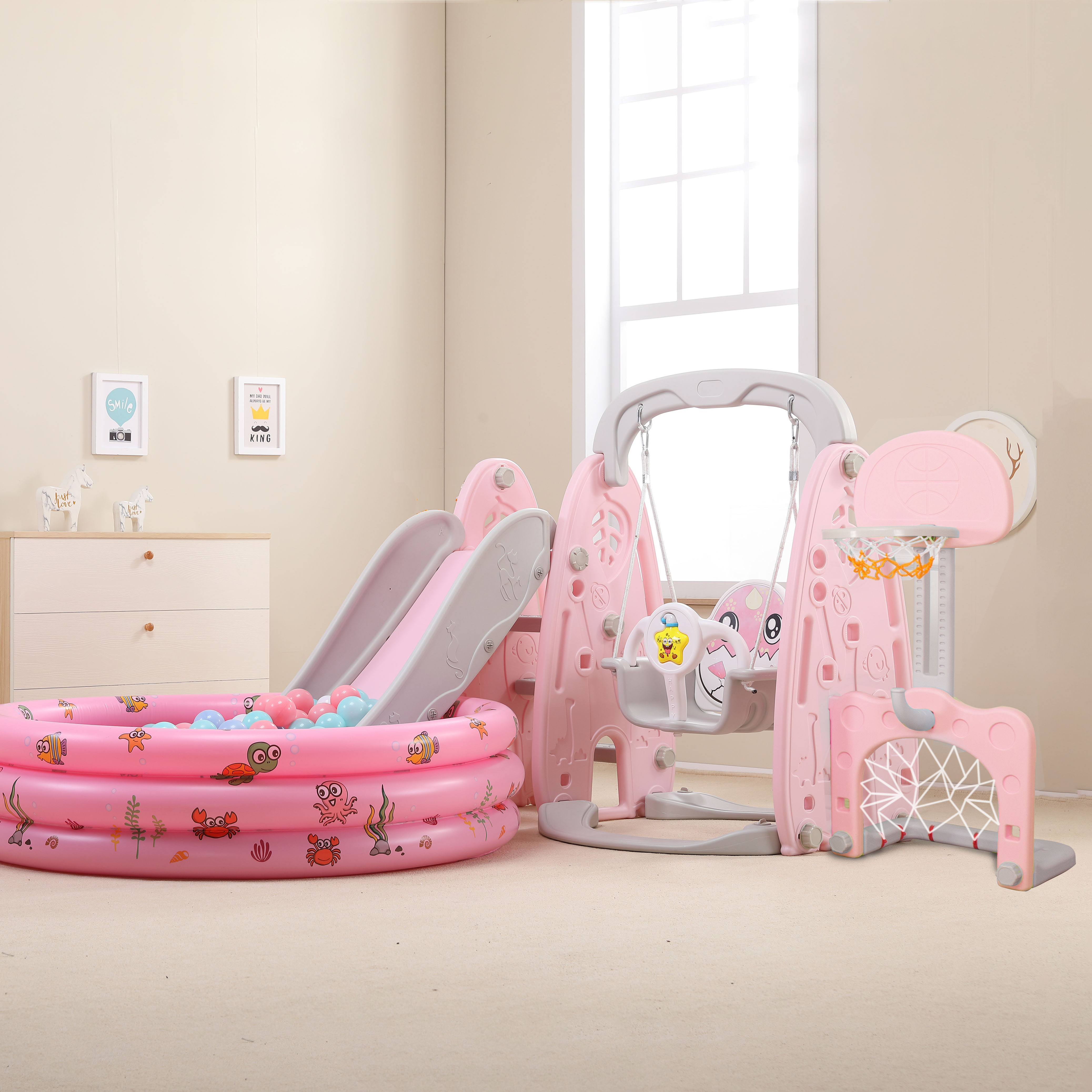 Небольшие игровые комплексы для детей Артикул 596832487855