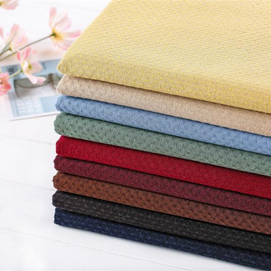 New 9-color versatile water jade spot jacquard fabric group pure cotton fabric patchwork dress fabric