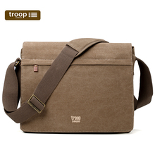 Troop Leisure Men's Bag Single Shoulder Bag Men Simple Youth New Men's Slant Bag Men's Backpack Canvas Bag Banner