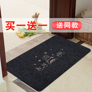 门口地垫家用地毯门垫进门入户防滑垫子洗手卫生间吸水踩脚垫厨房