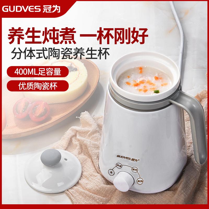 办公室养生杯电炖煮粥杯学生宿舍小迷你陶瓷电热煲炖杯加热牛奶