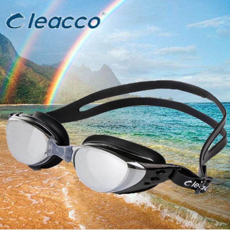 力酷泳镜 男女成人儿童近视泳镜高清大框防水防雾游游泳眼镜装备