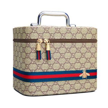 多功能化妆包大容量女便携层收纳盒