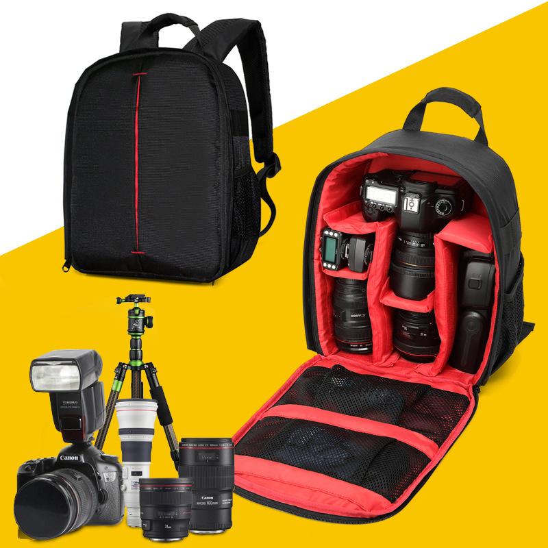 韩版3C数码户外小型双肩摄影包日系单反数码相机包自驾旅行郊游