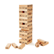 Hape stacked high pumping and folding music drawing blocks children adult laminated wood tablecloth goes well tour puzzle toys
