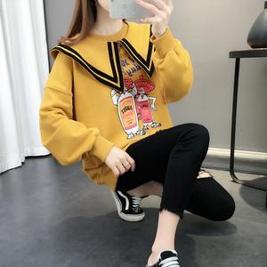 女士2021年新款女装网红炸街卫衣