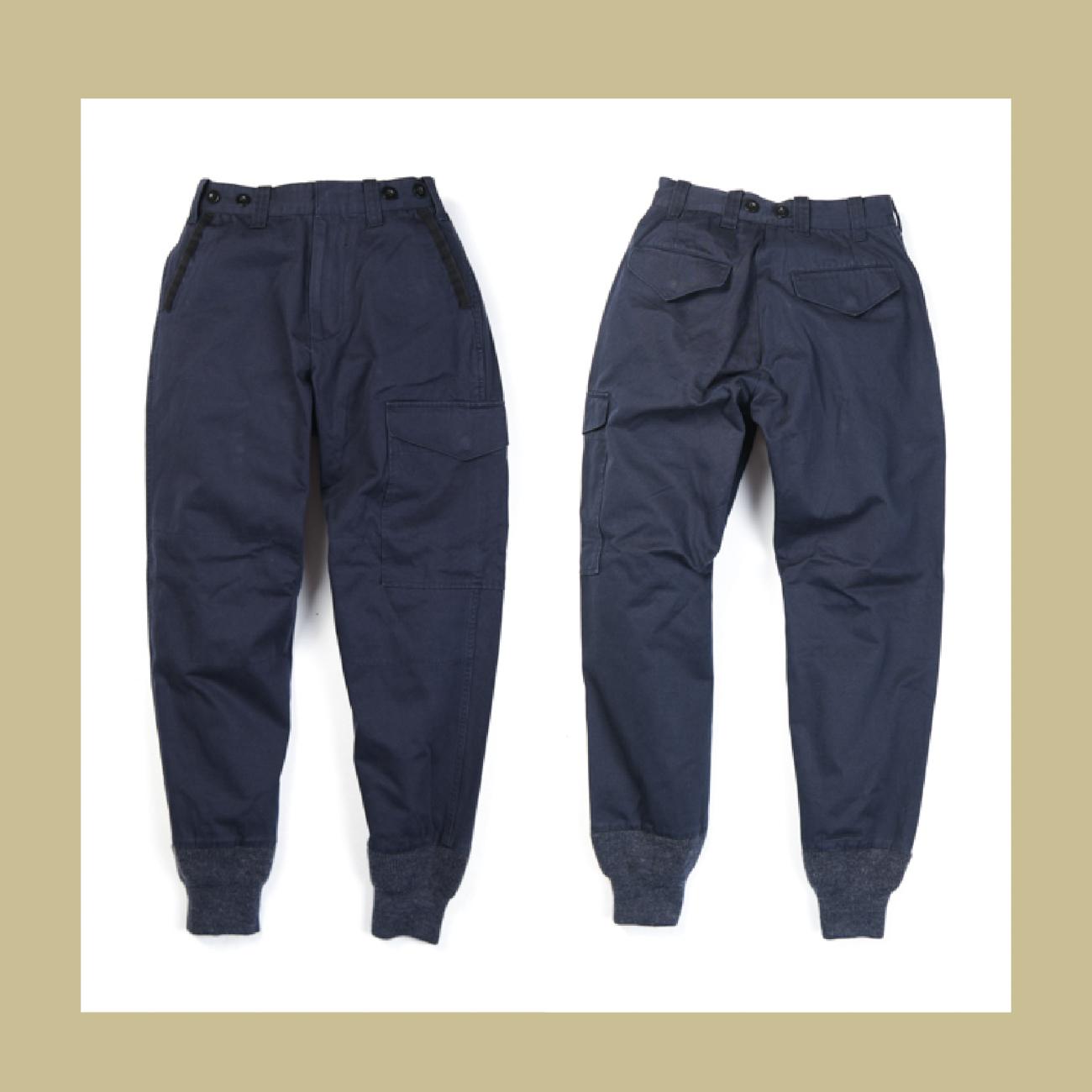 UNIONBLUE BRITISH ARMY T-PANTS英军多口袋梭织螺纹体育训练裤