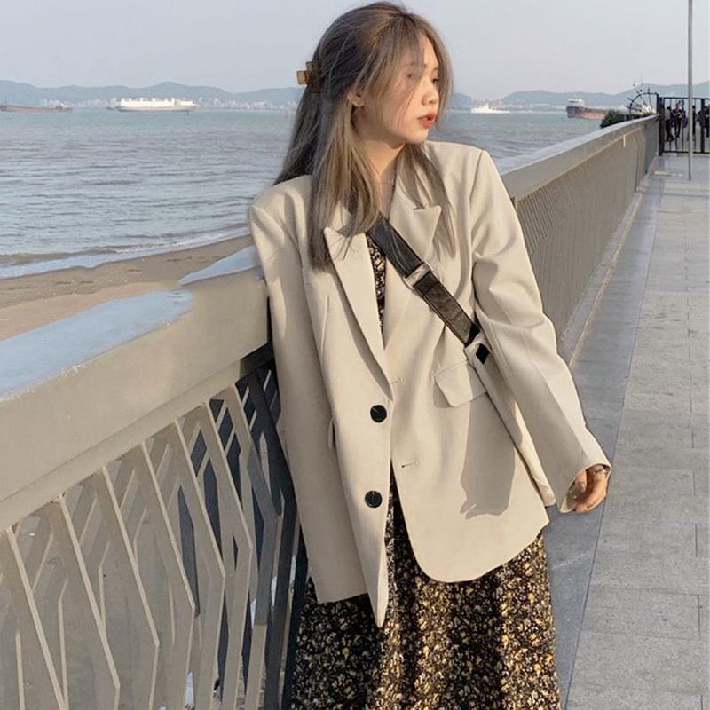 外套2021春季新款韩版流行气质西服评价好不好