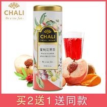 菠萝干片配火龙凤梨干花果茶泡水50g菠萝片网红纯手工水果茶