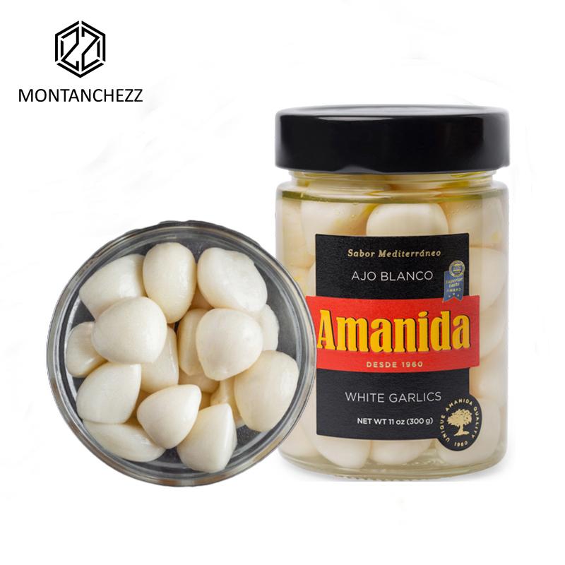 White Garlic in Original Flavour-阿曼尼达原味白蒜罐头-300g