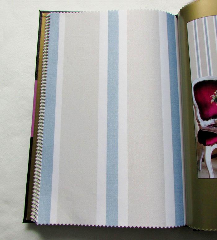 58.00元包邮重庆实体店 北欧现代美式地中海蓝色条纹无缝墙布客厅卧室壁布纸
