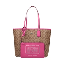 GFCCOACH/Ms. Koch Bag, Double Bread, Single Shoulder Hand-held Tote Bag 25033